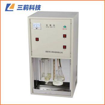 KDT-04C定氮仪 数显四孔消化炉粮食饲料粗蛋白质测定仪 KDT-04、08C蒸馏器(自来水、定时回收)
