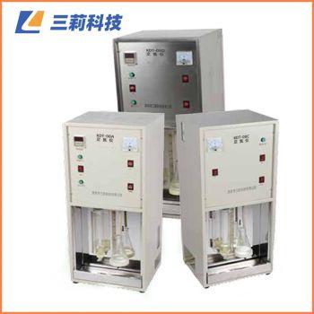 KDT-08D不锈钢外壳定氮仪 八孔消解器粮食饲料粗蛋白质测定仪 KDT-04、08D蒸馏器(自来水、不锈钢外壳)