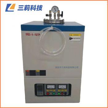 定制1700℃真空坩埚炉SG2V-2-17TP坩埚电阻炉 氧化锆坩埚电阻炉