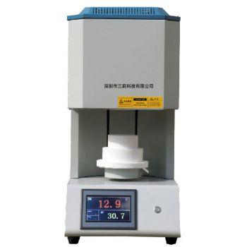 1400℃热处理烧结炉 20L高温材料退火炉 SLS-300-14小型升降烧结炉