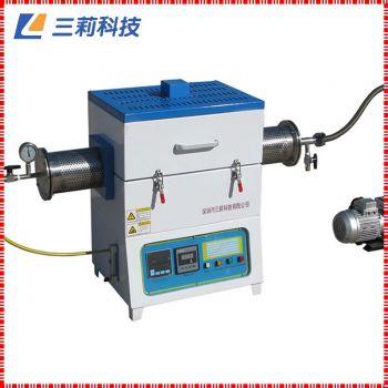 1700℃通气氛抽真空高温管式炉 SK2-3-17TPA2管式电阻炉