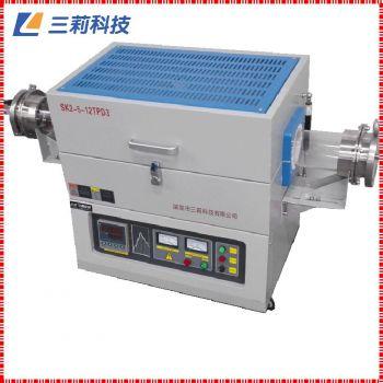 SK2-2-12TPA2海南真空退火管式电阻炉 φ40mm1200℃高温管式炉
