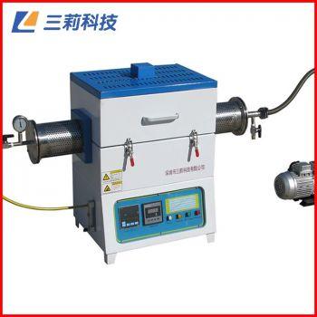 批发SK2-4-17TPA3管式电阻炉 1700℃通气氛抽真空高温管式炉