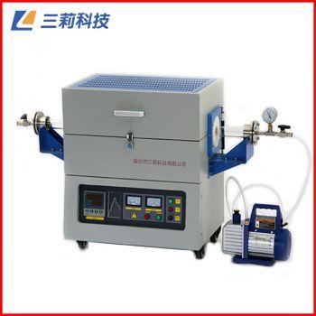 SK2-7-12TPD6佛山管式电阻炉 φ100mm1200℃高温气氛管式炉