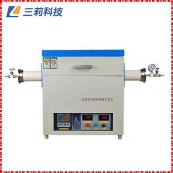 定制SK2-10-17TPD4管式电阻炉 1700℃通气氛抽真空高温管式炉