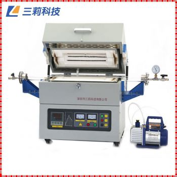 φ100mm1200℃高温管式气氛炉SK2-6-12TPD4广州管式电阻炉