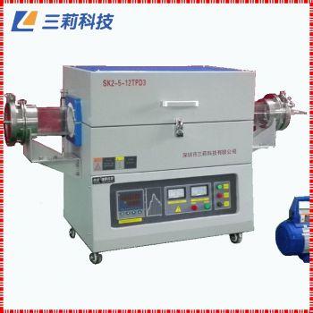 1200℃高温管式电阻炉SK2-5-12TPD3惠州气氛管式高温电炉