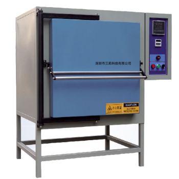 定制SLD-96-10工业箱式电阻炉 内胆96升1000℃大容量高温炉