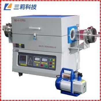 定制SK2-6-12TPC6河源管式电阻炉 1200度管式气氛高温炉